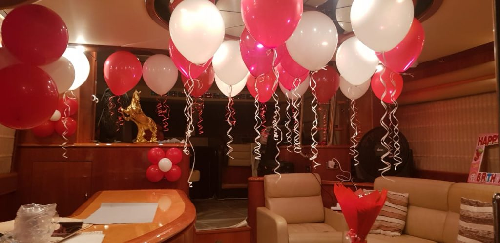 Yacht Birthday Party Dubai