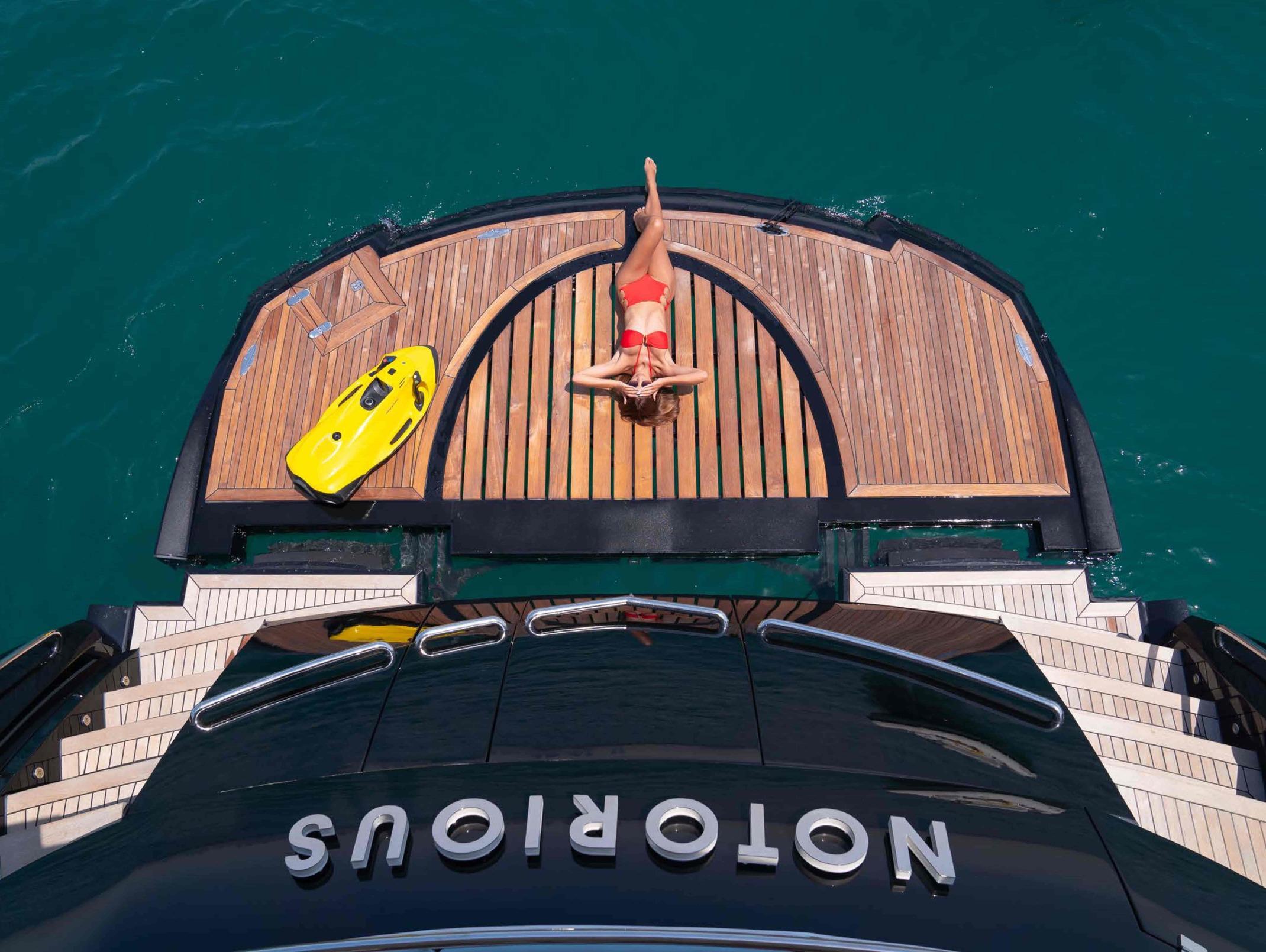 Luxury Notorious Yacht Dubai