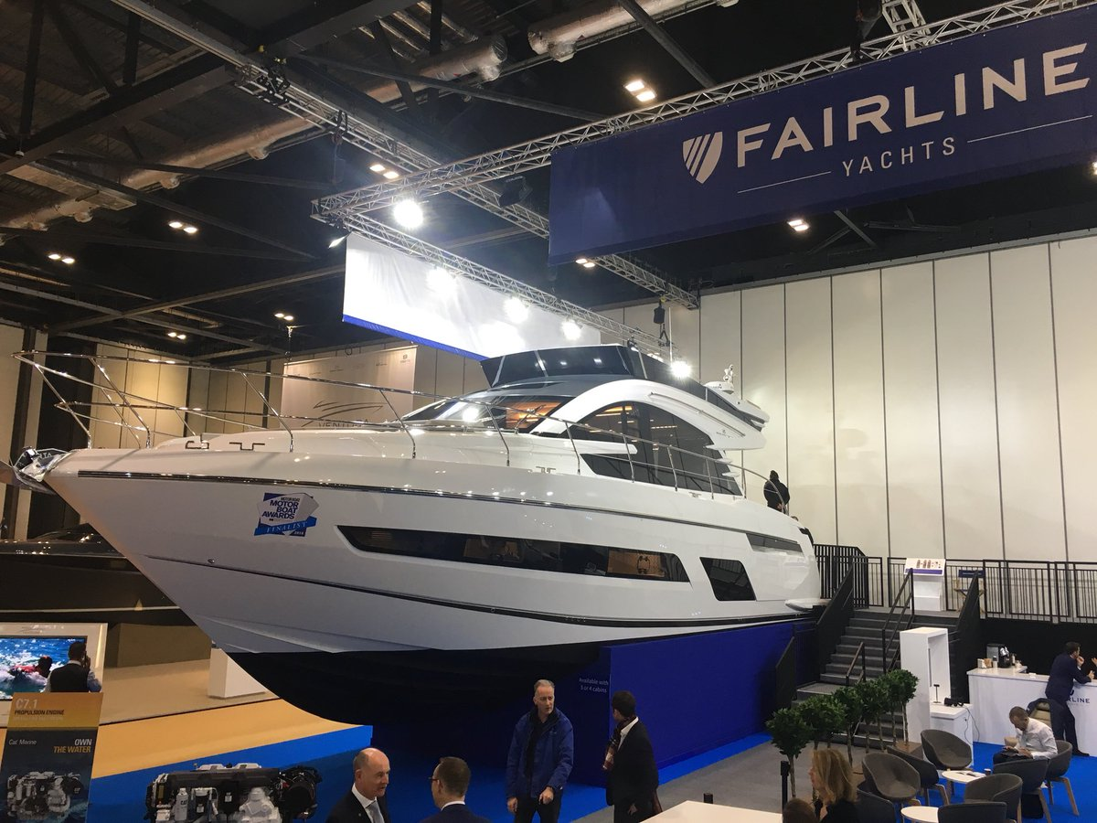 Fairline's new golden chapter to be unveiled at London Boat Show