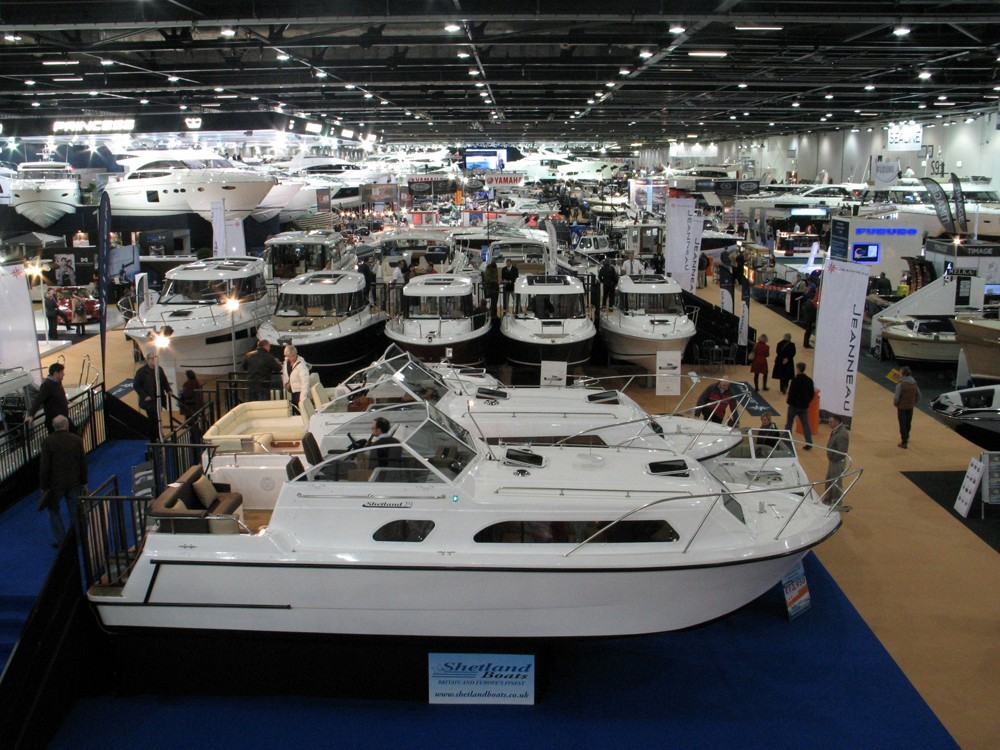 RY at the London Boat Show Jan 6 – 15 Jan 2017 at ExCel in the United Kingdom