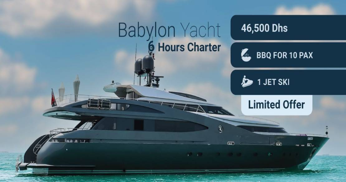 Notorious Yacht Offer