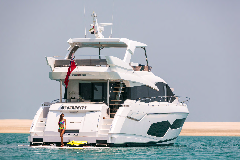 MY Serenity yacht
