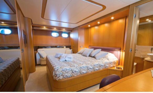 cabin on yacht