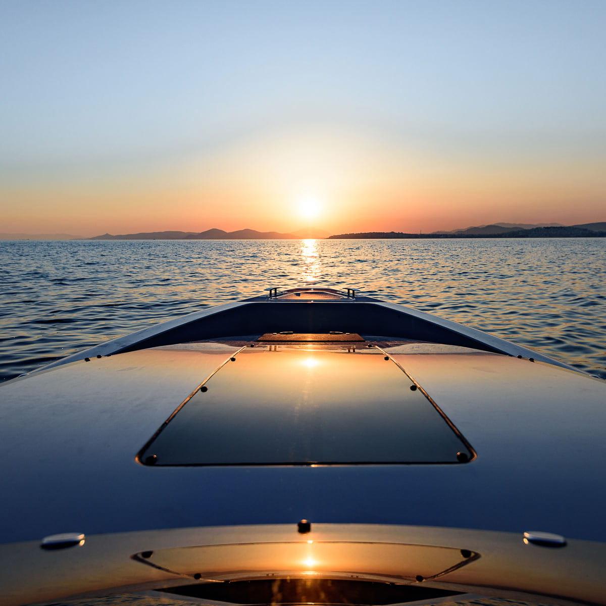 Blue Yonder Yacht Deck