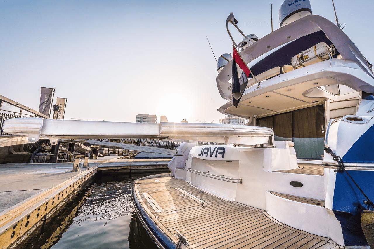 Java Sunseeker Yacht Dubai